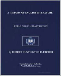 A History of English Literature by Fletcher, Robert Huntington