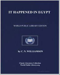 It Happened in Egypt by Williamson, Charles Norris