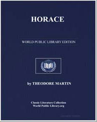 Horace by Martin, Theodore