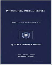 Introductory American History by Bourne, Henry Eldridge