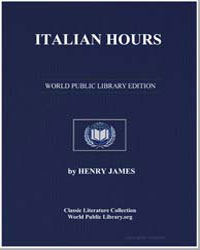 Italian Hours by James, Henry