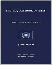 The Iroquois Book of Rites by Hale, Horatio