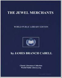 The Jewel Merchants by Cabell, James Branch