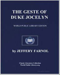 The Geste of Duke Jocelyn by Farnol, Jeffery