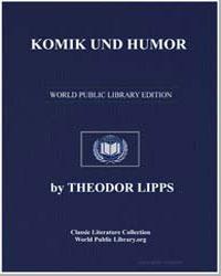 Komik und Humor by Lipps, Theodor