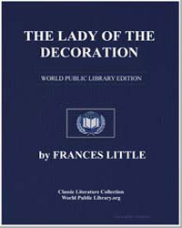 The Lady of the Decoration by Little, Frances