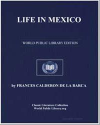Life in Mexico by De La Barca, Frances Calderon