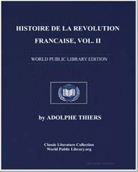 Histoire de la Revolution Francaise, Vol... by Thiers, Adolphe