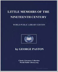 Little Memoirs of the Nineteenth Century by Paston, George