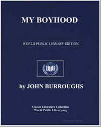 My Boyhood by Burroughs, John