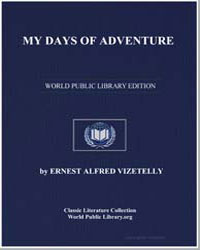 My Days of Adventure by Vizetelly, Ernest Alfred