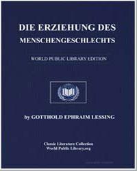 Die Erziehung des Menschengeschlechts by Lessing, Gotthold Ephraim