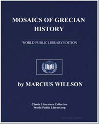 Mosaics of Grecian History by Willson, Marcius
