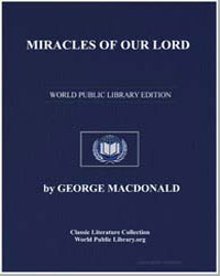 Miracles of Our Lord by Macdonald, George