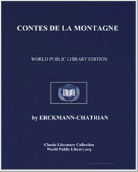 Contes de la Montagne by Erckmann, Chatrian