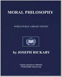 Moral Philosophy by Ricka, Joseph S. J.
