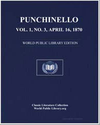Punchinello, Volume 1, No. 3, April 16, ... by Hutchinson, Joshua