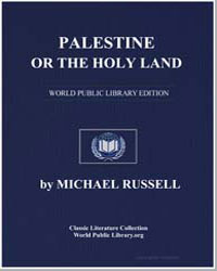 Palestine or the Holy Land by Russell, Michael