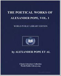 The Poetical Works of Alexander Pope, Vo... by Pope, Alexander