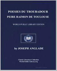 Poesies du Troubadour Peire Raimon de To... by Anglade, Joseph