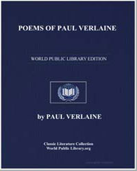 Poems of Paul Verlaine by Verlaine, Paul