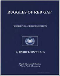 Ruggles of Red Gap by Wilson, Harry Leon