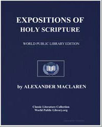 Expositions of Holy Scripture by Maclaren, Alexander