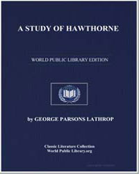 A Study of Hawthorne by Lathrop, George Parsons