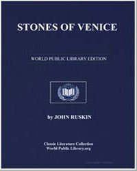Stones of Venice [Introductions] by Ruskin, John