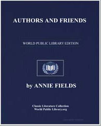 Authors and Friends by Fields, Annie
