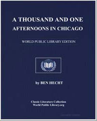 A Thousand and One Afternoons in Chicago by Hecht, Ben