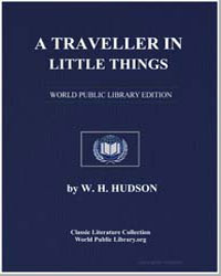 A Traveller in Little Things by Hudson, W. H.