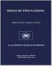 Songs of Two Nations by Swinburne, Algernon Charles