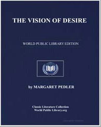 The Vision of Desire by Pedler, Margaret