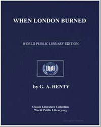 When London Burned by Henty, George Alfred