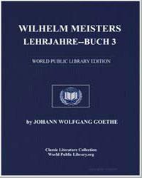Wilhelm Meisters Lehrjahrebuch 3 by Von Goethe, Johann Wolfgang