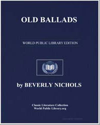 Old Ballads by