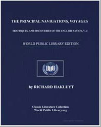 The Principal Navigations, Voyages, Traf... by Hakluyt, Richard