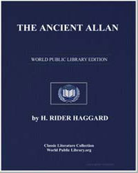 The Ancient Allan by Haggard, Henry Rider