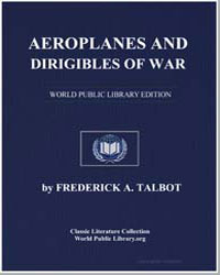 Aeroplanes and Dirigibles of War by Talbot, Frederick A.
