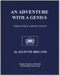 An Adventure with a Genius by Ireland, Alleyne