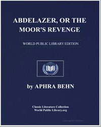Abdelazer, Or the Moor's Revenge by Behn, Aphra
