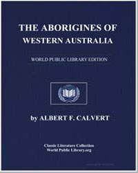 The Aborigines of Western Australia by Calvert, Albert Frederick