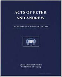 Acts of Peter and Andrew by