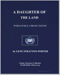 A Daughter of the Land by Porter, Gene Stratton