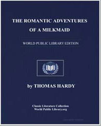 The Romantic Adventures of a Milkmaid by Hardy, Thomas