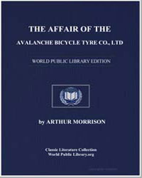 The Affair of the Avalanche Bicycle Tyre... by Morrison, Arthur