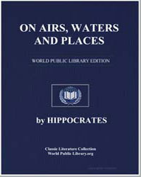 On Airs, Waters, And Places by Adams, Francis