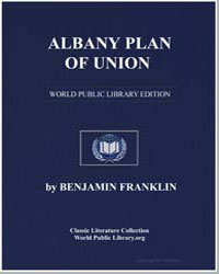 Albany Plan of Union by Franklin, Benjamin
