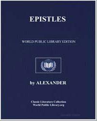 Epistles by Alexander, Cappadocia, Bishop Of.